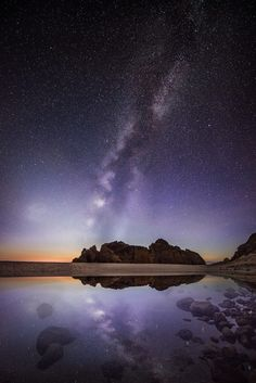 Two galaxies ... Big Sur | by Ali Erturk on 500px