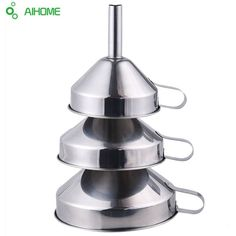 Just look, that`s outstanding!  Get it Here ---> http://siliconekitchenhome.com/product/3-pcs-stainless-steel-pouring-decanting-funnel-with-filter-strainer-111315cm-kitchen-tools/  #kitchenset #kitchentools #kitchen #buyonline #onsalenow #onsalenow #food #fruit #baking #bakingsoda #cutters #cookingtools #cookingtime #gadgets #lovetocook #lovepasta #foodlover #foodlovers #kitchenaccessories #kitchenaid #kitchenset #kitchentools #kitchenaid  #kitchenaccessories #vegetables #baking #salt…