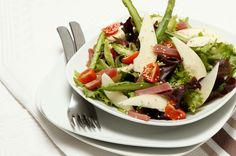 Salada de peras com presunto, já provou?