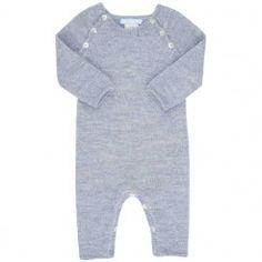 Purebaby. Baby Suit Dusty Blue. 594,30 DKK.  (Før 849,-)