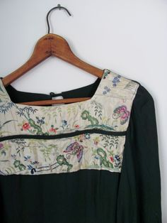 Silk Embroidered Tunic @ Moody Lords