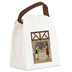 Apothecary Shop Canvas Lunch Bag on CafePress.com