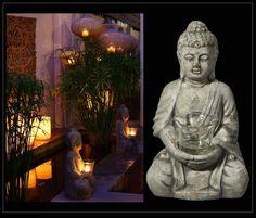 ¿Te gustan los budas? ¿Te gusta este rincón zen? Buda para poner vela de venta en Original House. Visita nuestro apartado de FIGURAS dentro de nuestra web http://www.originalhouse.info/