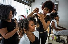 We've all heard salon horror stories when it comes to natural hair, and that's why most of us prefer to treat our tresses at home. There have been stories of Dominican hair salons using relaxers in their conditioners, causing heat damage by excessive blow outs, or just the dirty looks some naturals may get when Click to continue...
