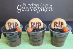 Nothing is spookier than a Pudding Cup Graveyard! That is until you add a spooky story to go with it. Halloween it up with The Little Old Lady Who Was Not Afraid of Anything by Linda Williams