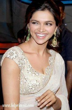 Deepika padukone was on nach baliye......in white saree