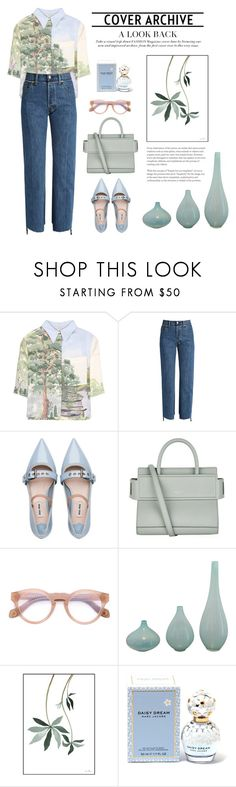 """""""nature."""" by blurob ❤ liked on Polyvore featuring STELLA McCARTNEY, Vetements, Miu Miu, Givenchy, Monocle, Marc Jacobs, prints, floralprint, summerstyle and gucci"""