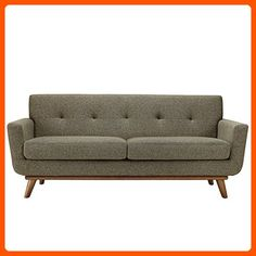 Modway Engage Upholstered Loveseat in Oatmeal - Improve your home (*Amazon Partner-Link)
