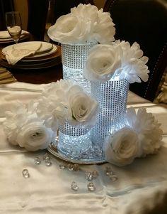 Centerpiece - bling weddings