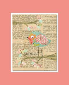 Baby Girl Nursery Prints, NURSERY ART PRINTS, French Nursery, Vintage Nursery Prints, Art Prints For Girl, Nursery Wall Decor, Pastel Prints. $16.00, via Etsy.