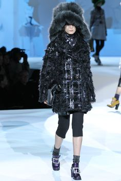Marc Jacobs Fall 2012 Ready-to-Wear Fashion Show - Xiao Wen Ju
