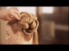 Easy Wedding Upstyle With Elegant Curls - really beautiful and really difficult to make alone.