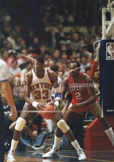 Madison Square Garden October 26 at 12 AM  Patrick Ewing playing for the  New York 2e60fc20d