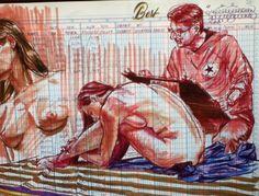 Pitt Artist Pen | Buttnekkiddoodles - Part 2