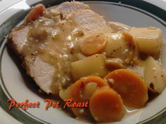 Kandy's Kitchen Kreations: Perfect Pork Pot Roast