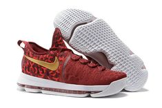 e4c7b55509d Nike KD 9 Rio Red Gold Mens Basketball Shoes For Sale