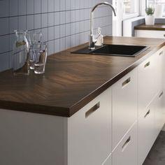IKEA Kalvia Kitchen Doors Transform the Hub of the Home Ikea New Kitchen, Kitchen Doors, Kitchen On A Budget, Wooden Kitchen, Kitchen Pantry Design, New Kitchen Designs, Kitchen Benchtops, Kitchen Counters, Kitchen Island