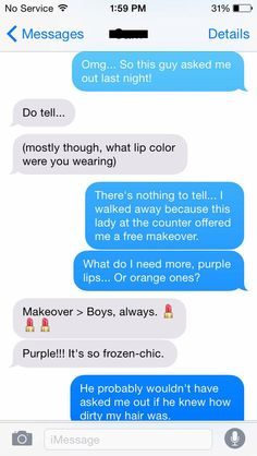8 Hilarious Beauty Chats You've Definitely Had With Your Friends: Makeover > Boys. Free Makeover, Beauty Quotes, Lip Colors, To Tell, Funny Texts, Definitions, Funny Things, Conversation, Hilarious