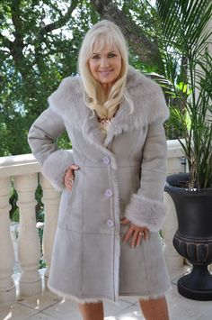 Lucas Shearling Sheepskin Coat | Coats, Spanish and Vintage