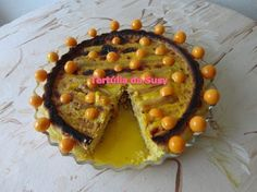 Tarte de espargos brancos e phisalis http://tertuliadasusy.blogspot.pt/2013/05/tarte-de-espargos-brancos-e-phisalis.html