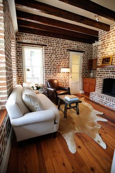 Rice Pied-A-Terre - contemporary - family room - charleston - Morris Architecture, llc