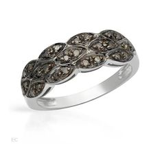 0.13 CTW Diamonds Sterling Silver Ring $155.50