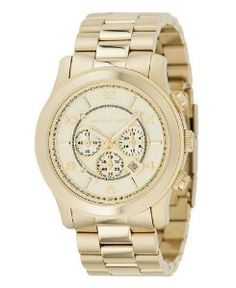 Michael Kors MK8077 Gold-Tone Men's Watch