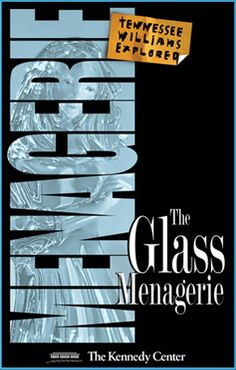 wonderful Tennessee Williams' Glass Menagerie poster by the great graphic artist Frank Fraver who also do @austinshakes @anthemtheplay poster!