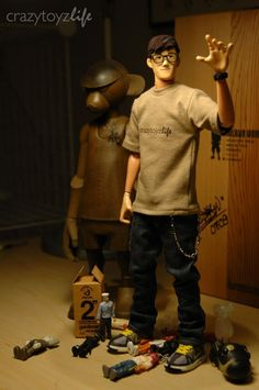 "Coolrain 12"" figure, Victor Chan..."