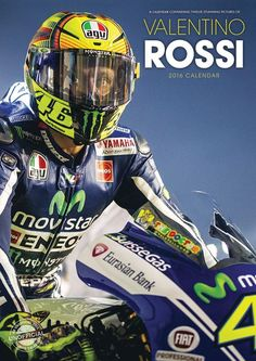 Valentino Rossi - Calendars 2020 on UKposters/EuroPosters Valentino Rossi 2017, Motogp Valentino Rossi, Skyline Gtr, Nissan Skyline, Rossi Yamaha, Rossi Motogp, Vale Rossi, Nicky Hayden, Motorcycle Racers