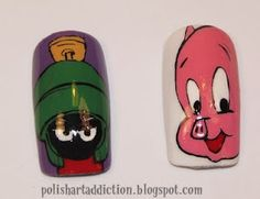 Marvin the Martian and Porky Pig