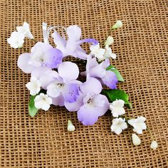 Cooktown Orchid Sugarflower Sprays cake toppers. | CaljavaOnline.com