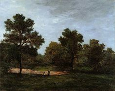 Clearing by Paul Gauguin Size: 38x46 cm Medium: oil on canvas