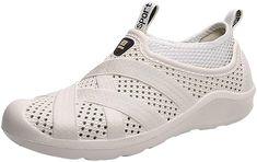 ae6be4ecf938 Mens Clogs Lightweight Walking Summer Slippers Garden Clogs Pool Sandals   Amazon.co.uk