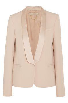 Vanessa Bruno Arnold crepe and satin tuxedo blazer NET-A-PORTER.COM