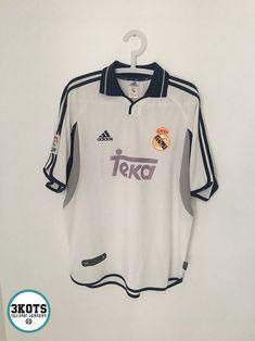 Details about REAL MADRID 2000 01 Home Football Shirt (L) Soocer Jersey  Vintage ADIDAS Maglia. Playeras De FutbolCamisetasCamisetas ... 33073f8d9984f