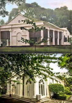 De Engelse Kerk in Batavia, 1860 1900, ,.,   Gereja Anglikan, jl Prapatan,  Jakarta, 2019