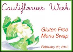 Menu Plan Monday - Gluten Free Edition