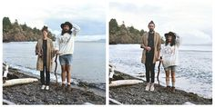 Hana Pesut is a B.C photographer who has been doing an ongoing project where she takes pictures of couples before and after they switch into each other's clothes. #fashion #switch #clothes