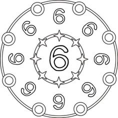 Numbers mandala coloring pages I Love Math, Numbers Kindergarten, Mandala Coloring Pages, Group Work, Math For Kids, Classroom Activities, Mandala Design, Kids And Parenting, Coloring Books