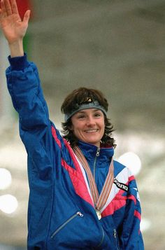 Bonnie Blair - 6 time olympic winner speed skating