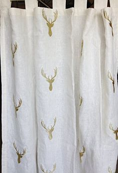 Amore Beaute Hand Made Off White Linen Curtain with Golde... https://www.amazon.co.uk/dp/B01DPNBPAW/ref=cm_sw_r_pi_dp_T9uvxbHBM30ZQ