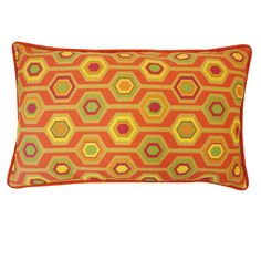 Add some spice to your outdoor home decor with our Recoleta Orange Pillow. This pillow is made of Polyester with Poly Dacron Fiber Insert and features an invisible zipper closure. Throw Pillow Sets, Lumbar Pillow, Decorative Throw Pillows, Pillow Arrangement, Orange Pillows, Pillow Reviews, American Decor, Perfect Pillow, Shabby Chic Furniture