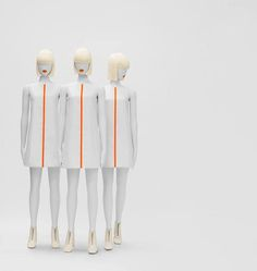 """Mannequins,""""Ready to take over the world"""", pinned by Ton van der Veer"""