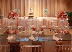 Combination love #wedding #love #peach #coral #mix