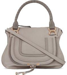 CHLOE - Marcie medium leather cross-body bag | Selfridges.com