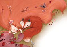 https://www.behance.net/gallery/19603535/fox-girl