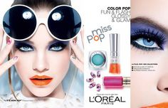 A Very Sweet Blog: L'Oreal Miss Pop Collection: Barbara Palvin