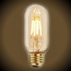 Nostalgic LED Filament Light Bulb - 4 Watt - Radio T14