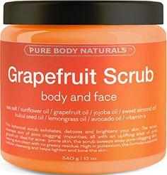 Grapefruit Scrub for Face and Body - Facial Scrub Exfolia... http://www.amazon.com/dp/B01DGWYQCG/ref=cm_sw_r_pi_dp_G58fxb14T44D0